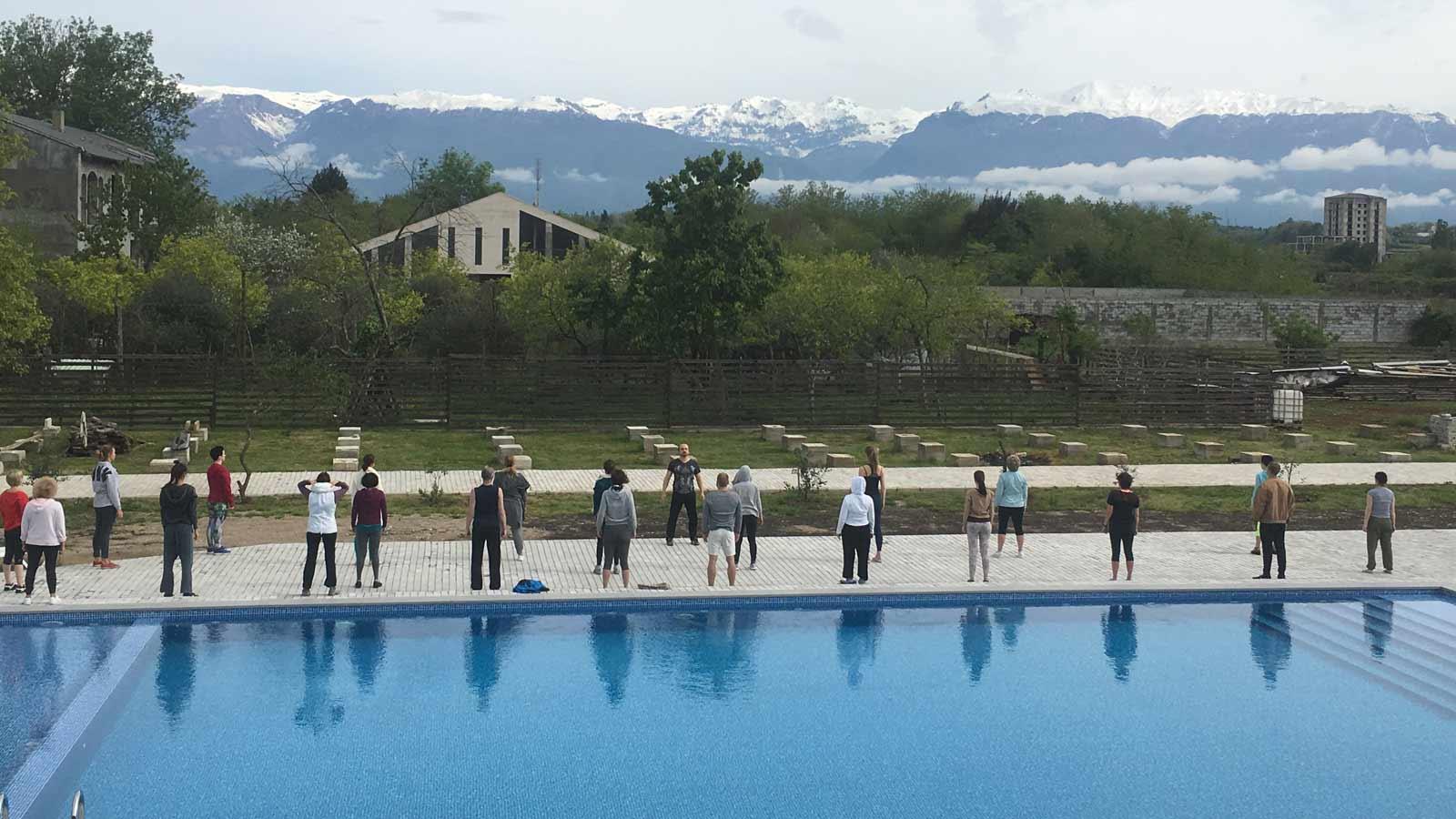 йога тур Абхазия практика